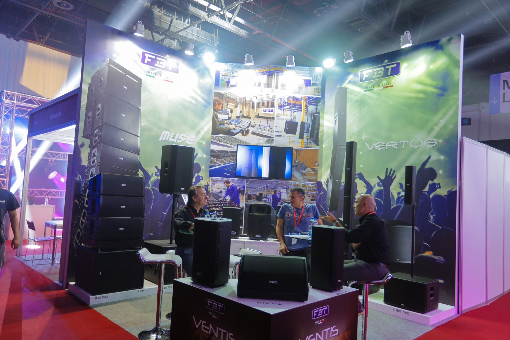 Prolight + Sound Middle East 18