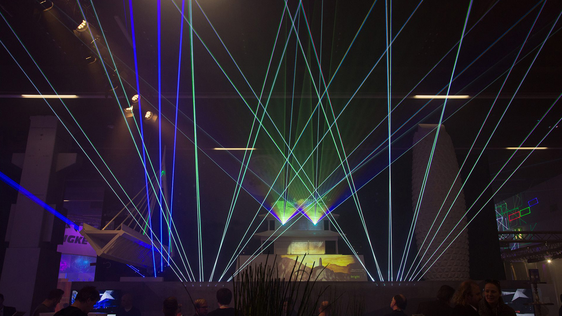 Prolight + Sound Middl East Laser Technology and Effects
