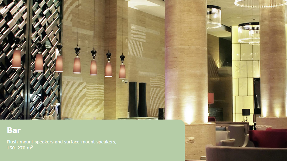 Prolight + Sound Middle East - Project scenarios from Bars and Restaurant