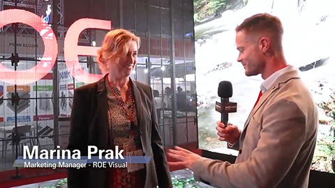 Prolight + Sound Middle East - ROE Visual Exhibitor Interview