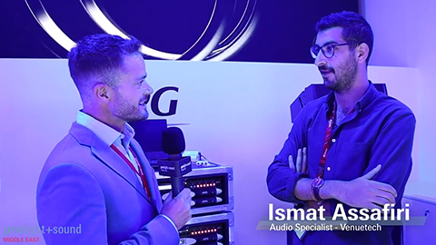 Prolight + Sound Middle East - Venuetech Exhibitor Interview