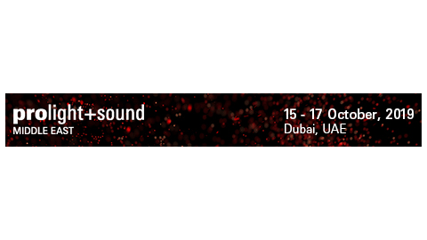 Prolight + Sound Middle East - Web banner 468x60