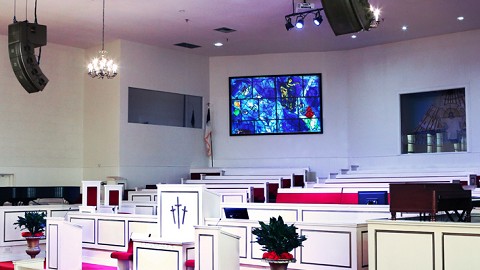 Mt. Moriah Baptist Church, Los Angeles - Harman - Prolight + Sound ME