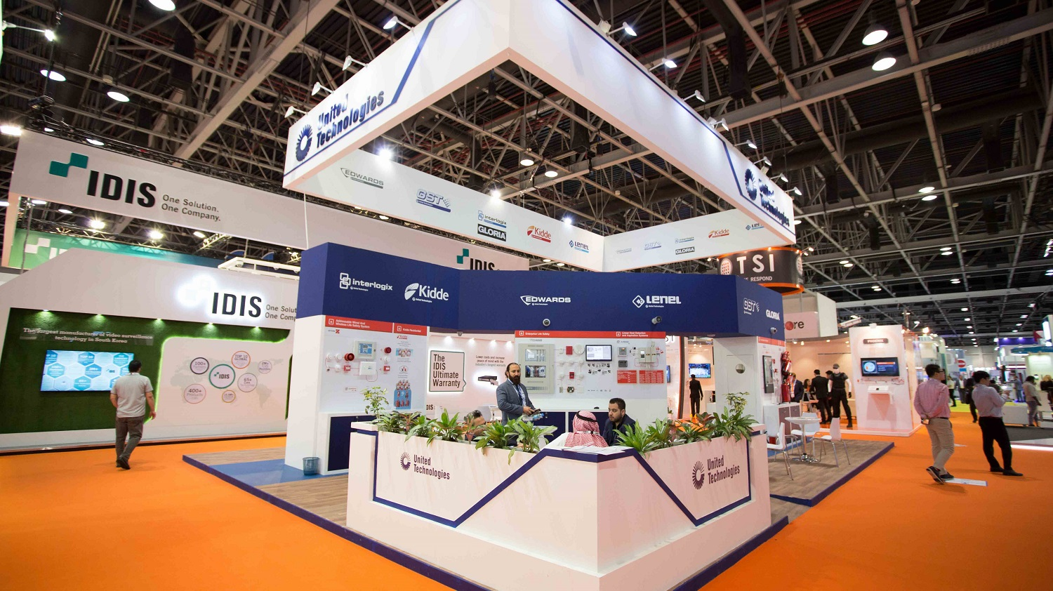 Stand Construction Prolight + Sound Middle East